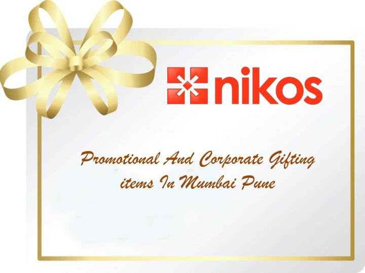 Promotional And Corporate Gifting