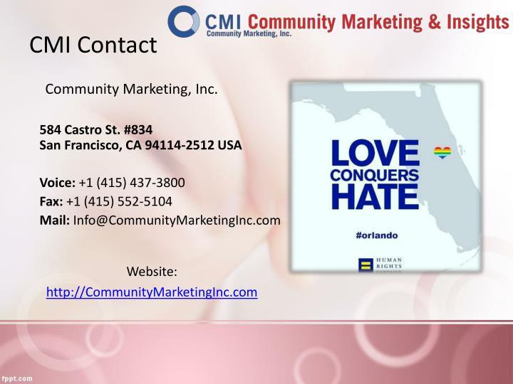 CMI Contact