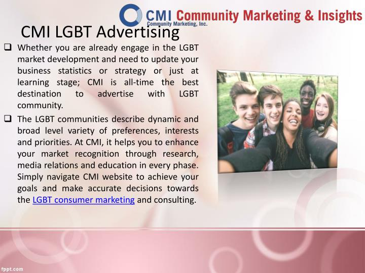 CMI LGBT Advertising