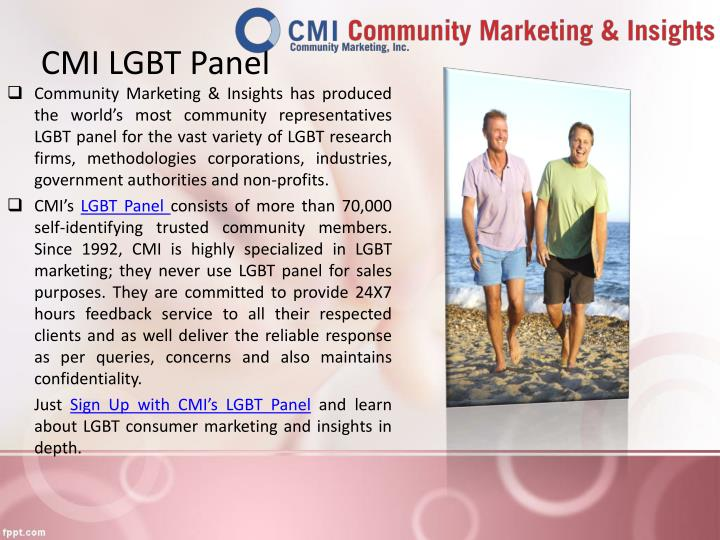 CMI LGBT Panel