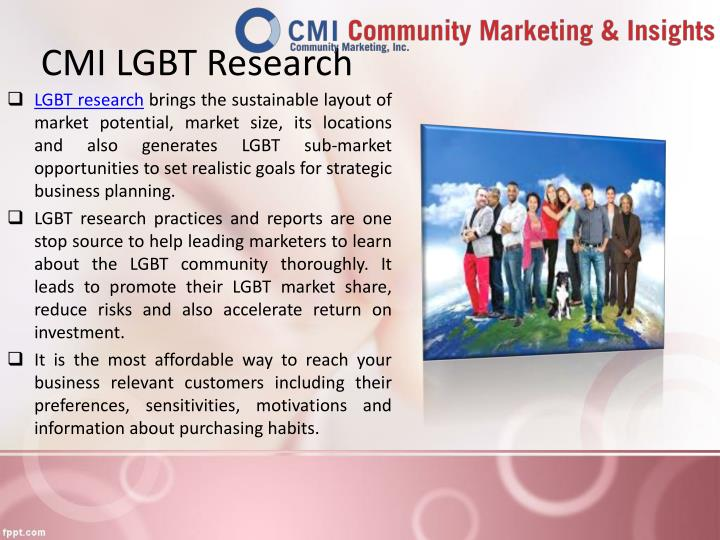 CMI LGBT Research