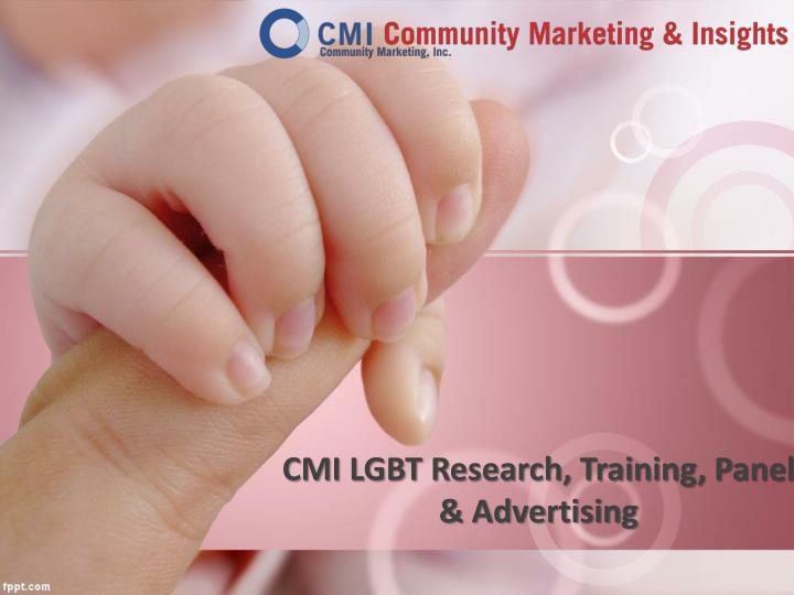 Cmi lgbt research training panel advertising