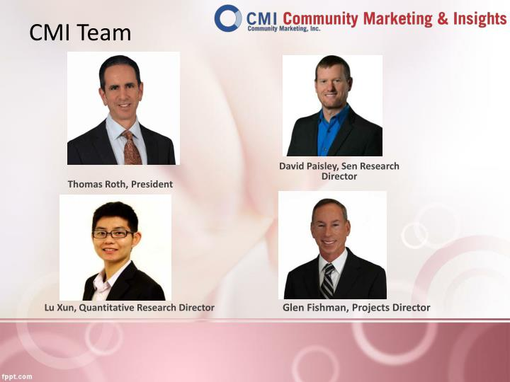 CMI Team