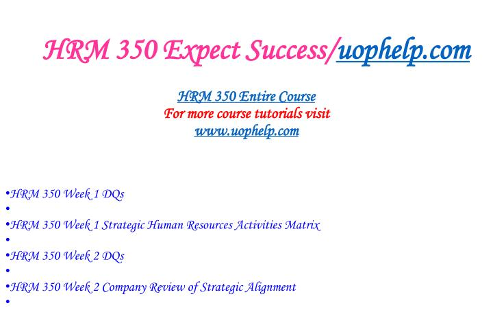 Hrm 350 expect success uophelp com1
