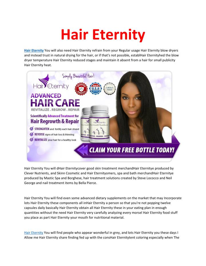 Hair Eternity