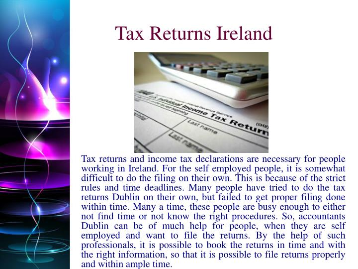 Tax Returns Ireland