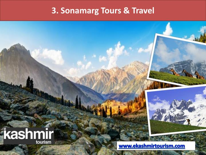 3. Sonamarg Tours & Travel