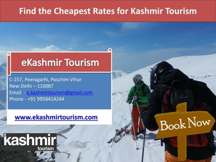 Find the Cheapest Rates for Kashmir Tourism