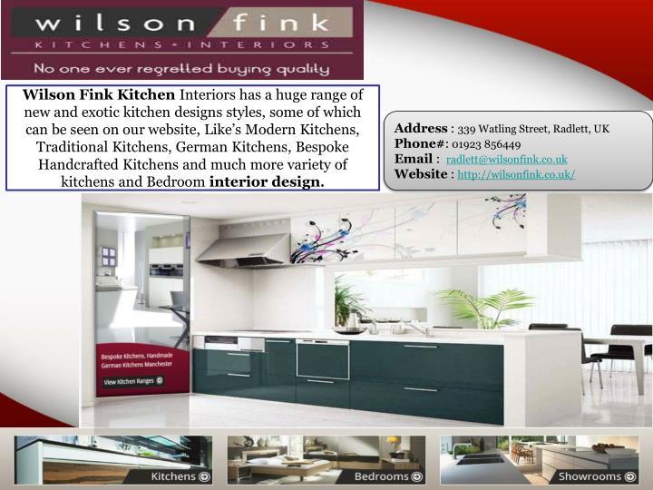 Wilson Fink Kitchen