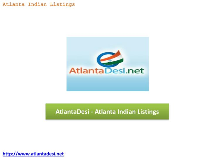 Atlantadesi atlanta indian listings