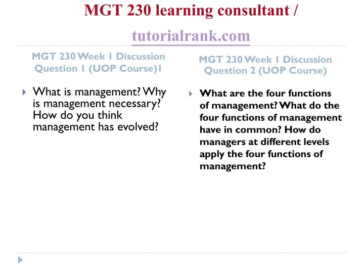 Mgt 230 learning consultant tutorialrank com2