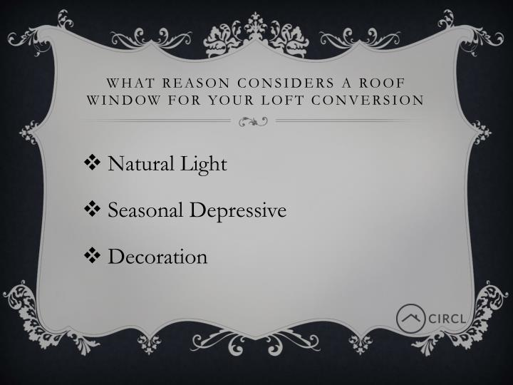 What Reason considers