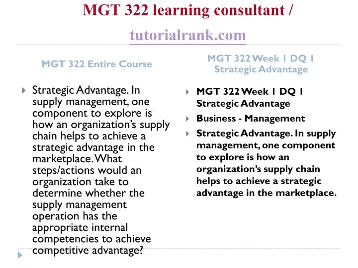 Mgt 322 learning consultant tutorialrank com1