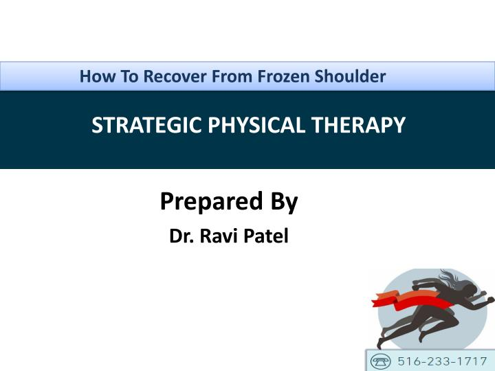 How To Recover From Frozen Shoulder