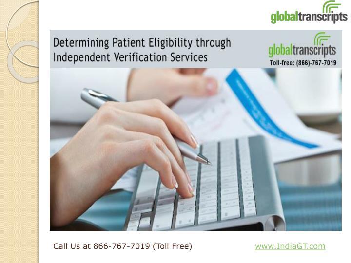 Call Us at 866-767-7019 (Toll Free)