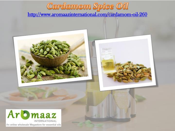 Cardamom Spice Oil