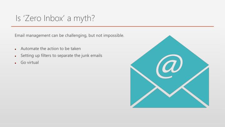 Is 'Zero Inbox' a myth?
