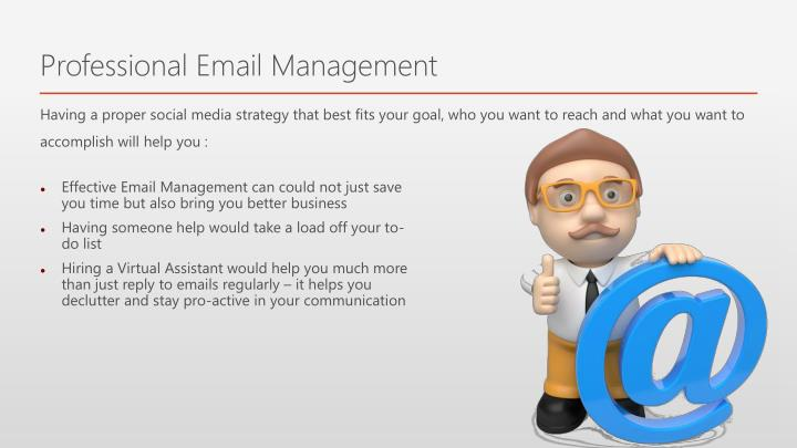 Professional Email Management