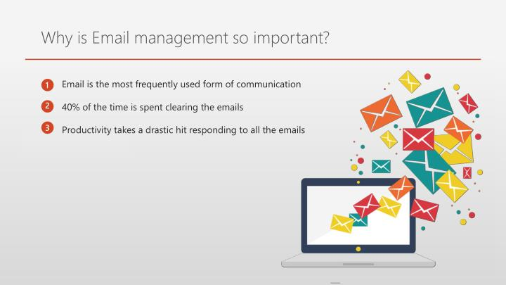 Why is Email management so important?