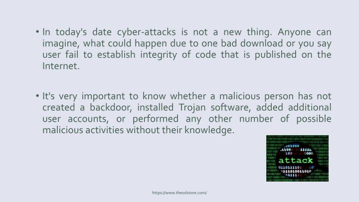 In today's date cyber-attacks is not a new thing. Anyone can imagine, what could happen