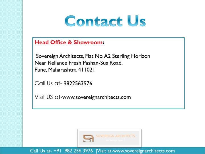 Head Office & Showroom: