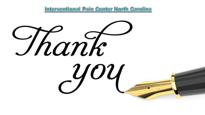Interventional Pain Center North Carolina