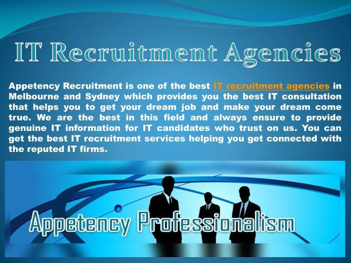 IT Recruitment Agencies