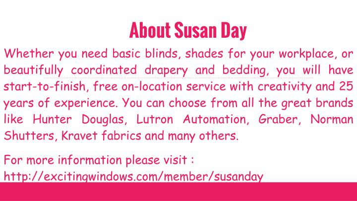 About susan day