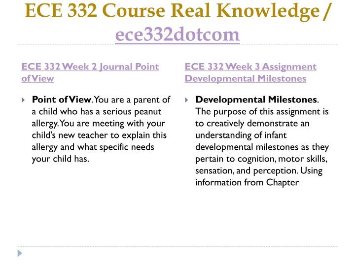 ECE 332 Course Real Knowledge /
