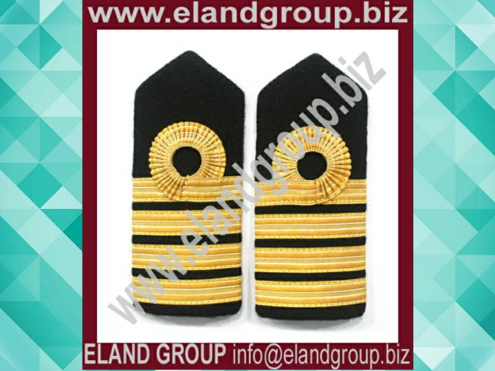 Royal navy captain shoulder boards