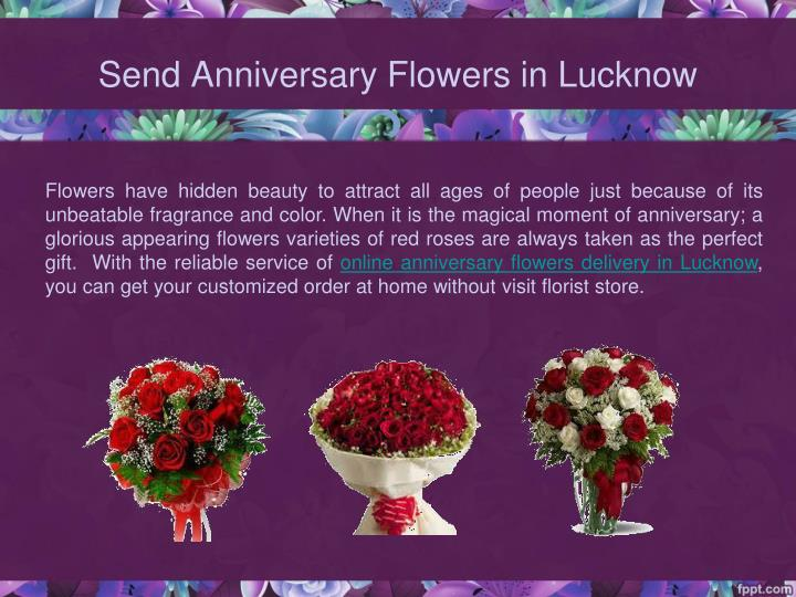 Send Anniversary Flowers in Lucknow