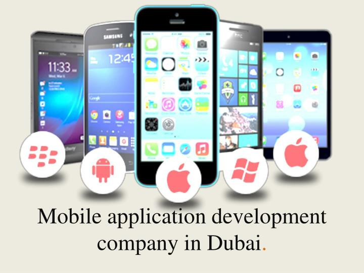 Mobile application development company in dubai