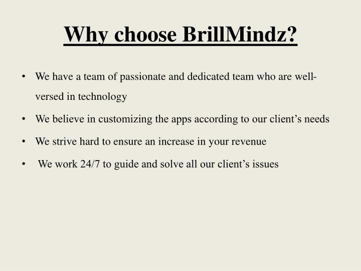 Why choose
