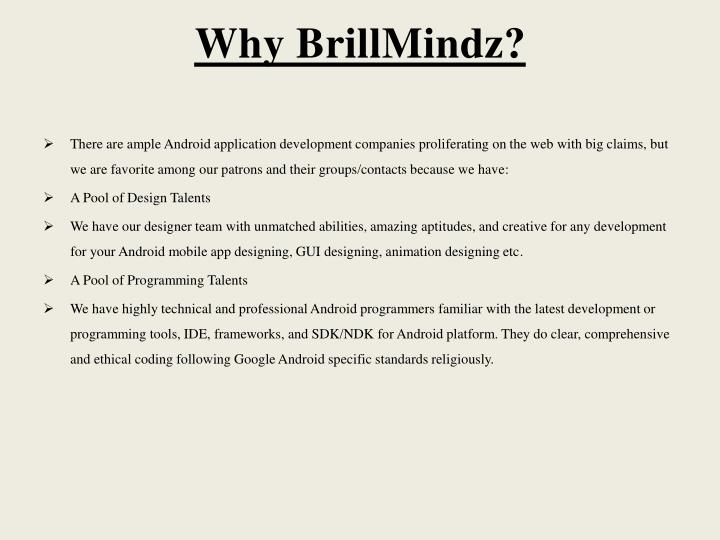 Why BrillMindz?