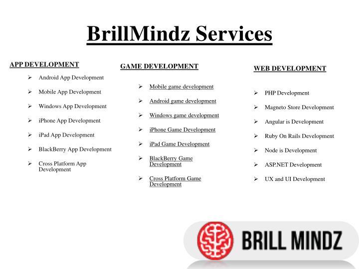 BrillMindz Services