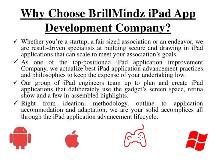 Why Choose BrillMindz iPad App