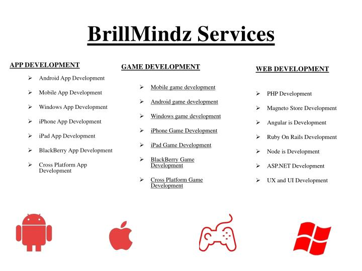BrillMindz Services