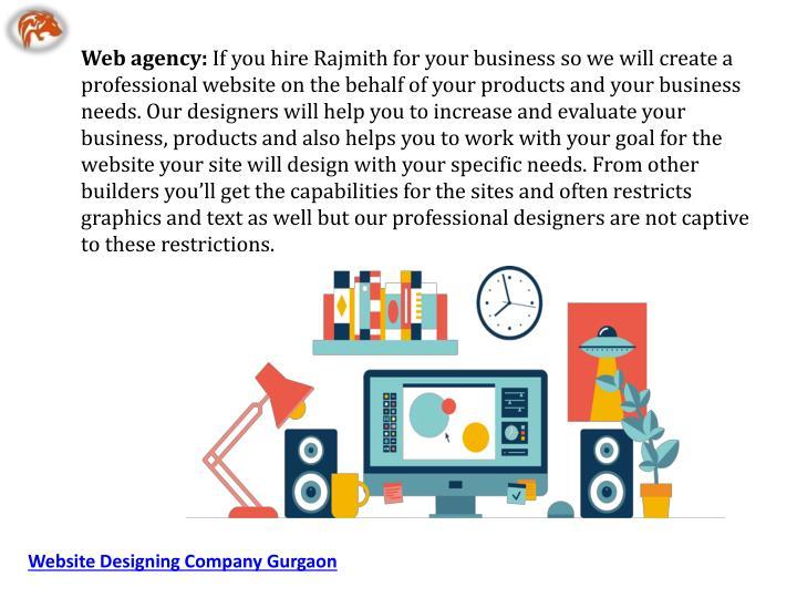 Web agency: