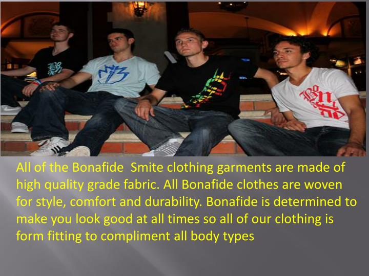 All of the Bonafide