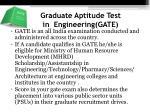 graduate aptitude test in engineering gate