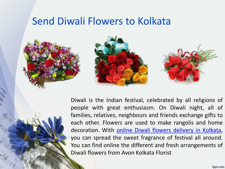 Send Diwali Flowers to Kolkata