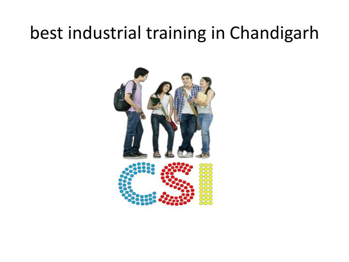 Best industrial training in c handigarh1