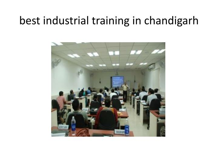 best industrial training in