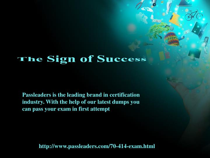 The Sign of Success