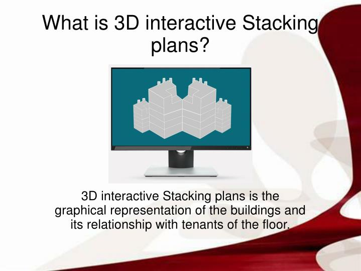 3D interactive Stacking plans is the graphical representation of the buildings and its relationship ...