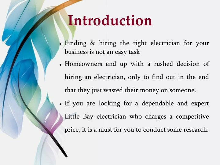 Finding & hiring the right electrician for your business is not an easy task
