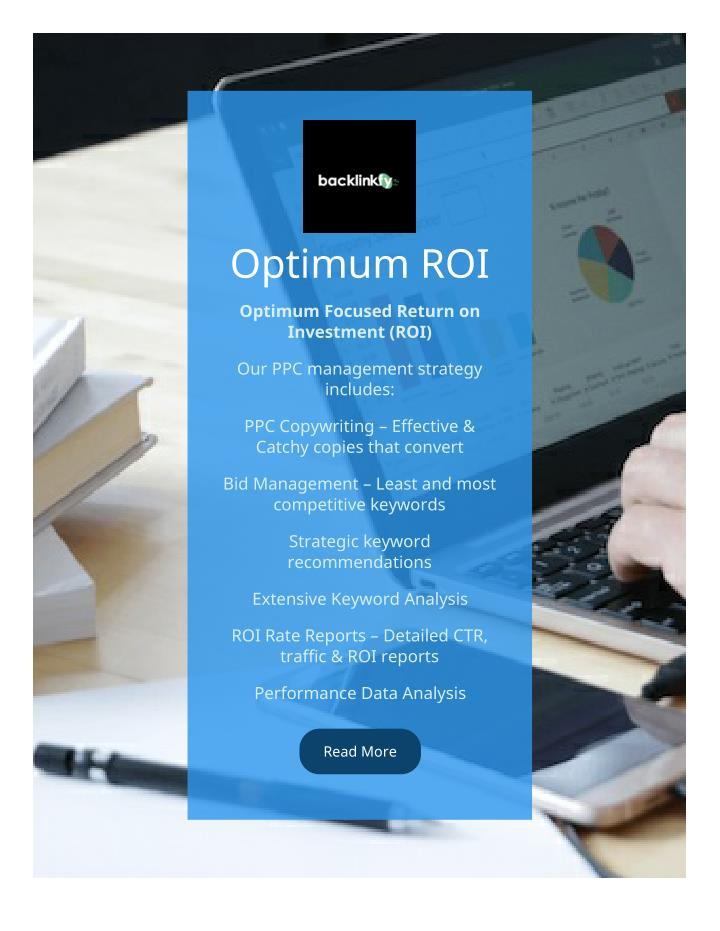 Optimum ROI