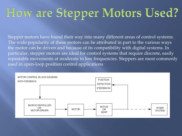 How are Stepper Motors Used?