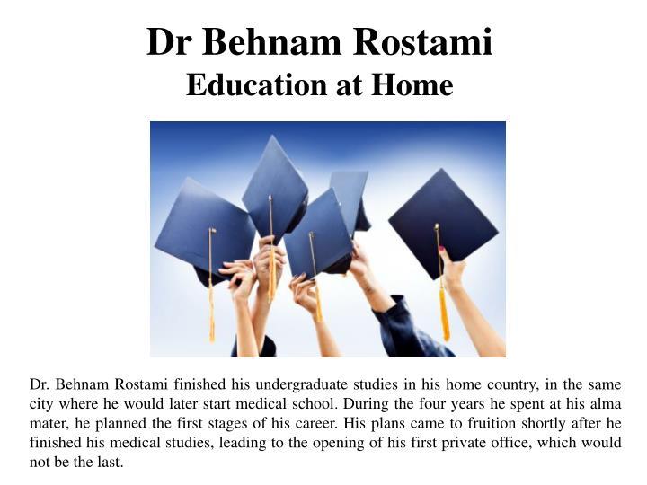 Dr Behnam Rostami