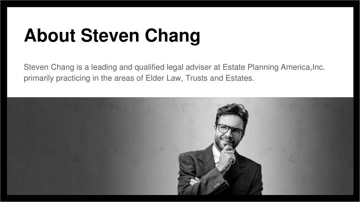 About Steven Chang